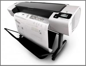 HP Designjet T790 44¨ A0 storformat
