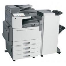 Lexmark XS950de med stifter og sorterer