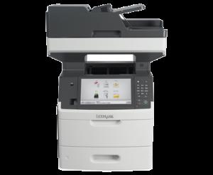 Lexmark MX711de mono A4 kopi/print maskin