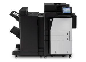 HP Laserjet M880z med sorterer og stifter-A2W76A-D7P71A