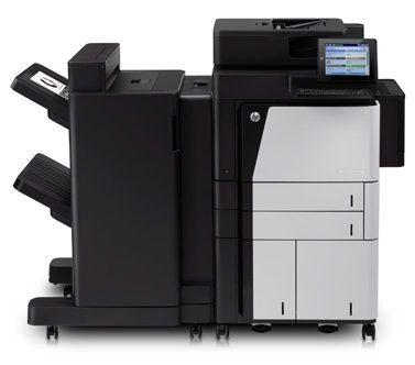 HP Laserjet M880z med sorterer og stifter