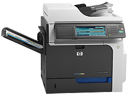Bordmodell kopimaskin HP laserjet CM4540