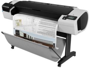 HP Designjet T1100 A0 44 storformat skriver