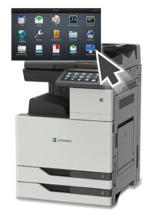 Lexmark XC9235 A3 / A4 format kopimaskin