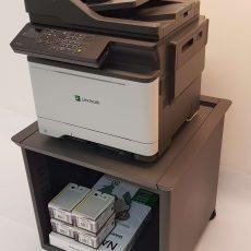 Leie kontorskriver A4 farge XC2235 med flott gulvkabinett