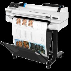 Leie HP Designjet T525 24″ A1 storformat skriver