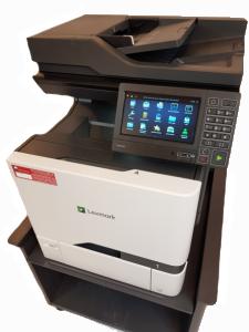 Kopimaskin Lexmark XC4150 med kabinett