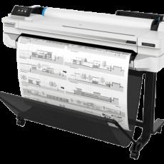 Leie HP Designjet T525 36″ A0 storformat skriver