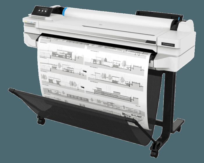 Leie HP Designjet T525